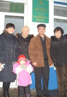 Р.Абубакиров со своими зрителями